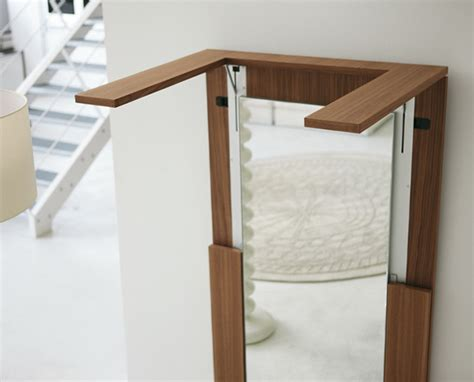 folding dining table mirror idea by porada ideas for