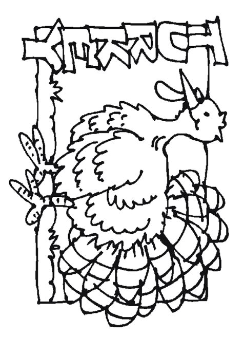 turkey coloring page outline free coloring pages