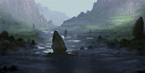 fantasy landscape  jjpeabody  deviantart