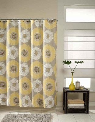 Yellow Valance For Bathroom Freshly Picked Pattern Of Oversize Florals Compliments