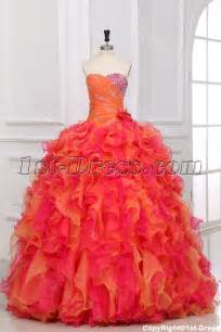 2013 multi color ball gown dresses for teenagers 1st dress com