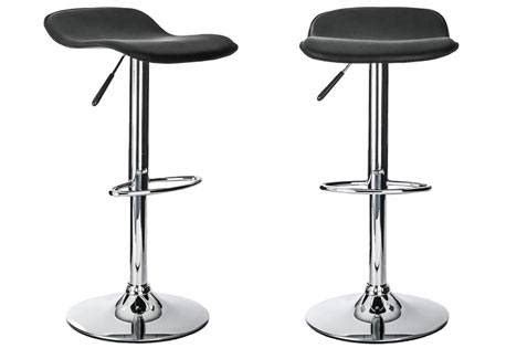 Small Stools And Gas by Alphason Ohio Stools With Adjustable Gas Lift Kitchen Dining Black Leather Sofa And Home