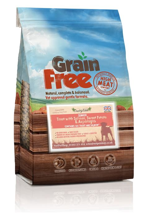 grain free senior food country kibble grain free senior food trout with salmon vat free