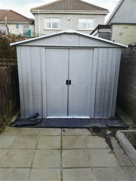 yardmaster 6x8 ft steel shed for sale in raheny dublin