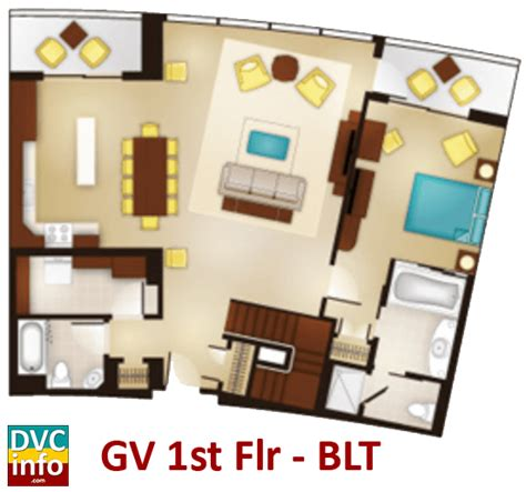 disney bay lake tower floor plan bay lake tower dvcinfo com