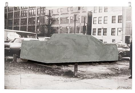 Cadillac Concrete Vostell Concrete 1969 1973 Smart Museum Of