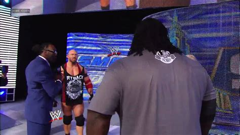 mark henry max bench mark henry and ryback both shatter a long standing bench