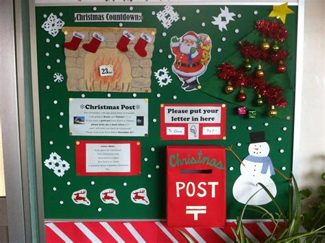 christmas board decoration lesson ideas gajet gunma ajet