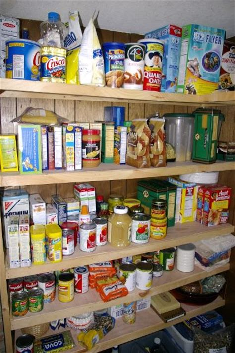 Emergency Food Pantry List by Survival Foods That Make Sense And Their Shelf Lives