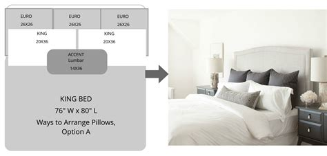 pillows for king size bed option b never fail 5 pillows combination 2