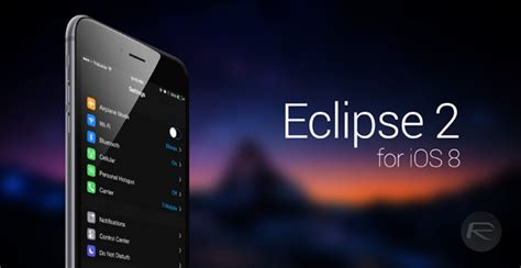 eclipse theme iphone jailbreak features apple should copy for ios 9 redmond pie