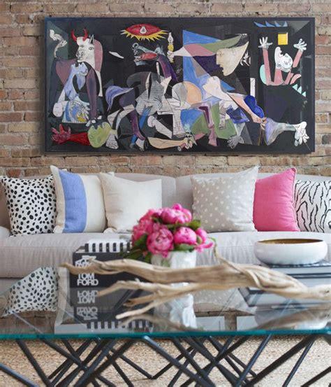comprar cuadros tripticos baratos ideas para decorar con cuadros abstractos decorativos