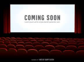 Cinema Armchair Cinema Screen Mock Up Vector Download