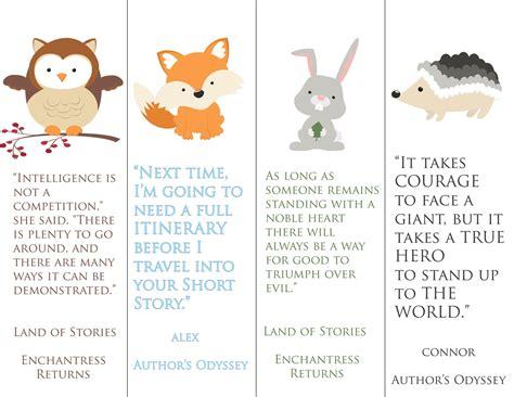 printable animal stories land of stories quote printable pack free printable