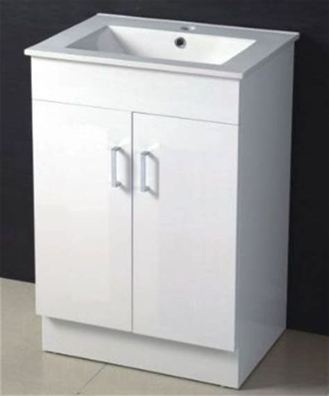 Mdf Bathroom Vanity 600mm Mdf Bathroom Vanity In High Glossy White Color M960 From White Bathroom Cabinet White