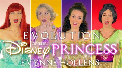 Disney Princesses evolution of the disney princess evynne hollens