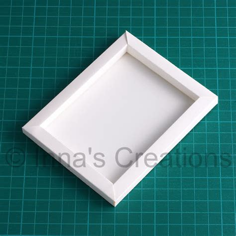 How To Make A Paper Photo Frame - inna s creations how to make a simple paper frame