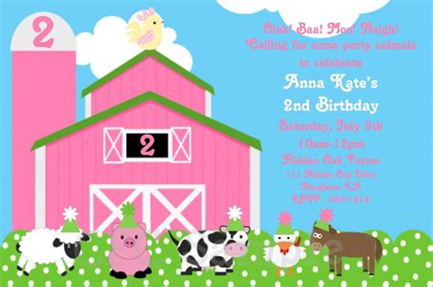 Farm Birthday Invitations Ideas Bagvania Free Printable Invitation Template Free Farm Birthday Invitation Templates