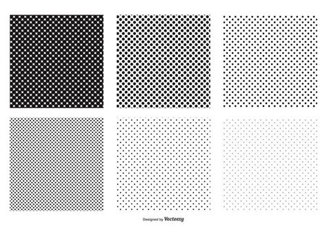 dot pattern making system seamless polka dot vector patterns download free vector