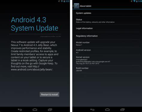 El Nexus 7 2013 Recibe Una Nueva Actualizaci 243 N De Android 4 3 Tuexperto