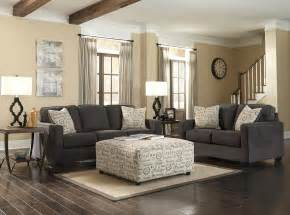 Charcoal Living Room Furniture Alenya Charcoal Living Room Set 16601 38 35 Furniture