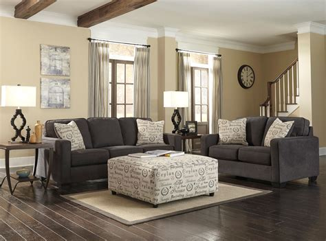 Alenya Charcoal Living Room Set 16601 38 35 Ashley Furniture Charcoal Living Room Furniture