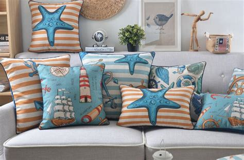 outdoor themed home decor outdoor throw pillows beach theme great home decor