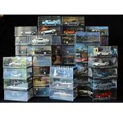 James Bond Car Collection  54 Model Cars In Display Case