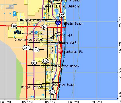 lantana florida fl 33462 profile population maps