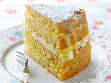 Lemon Cake 1 clotted filled lemon cake saga