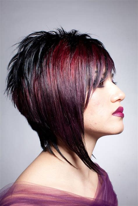 pinstest hair color and styles best 25 short funky hairstyles ideas on pinterest of 29