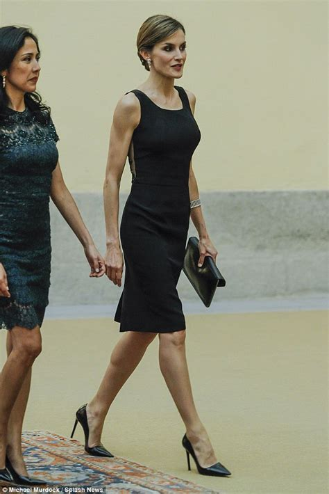 husbands in dresses queen letizia of spain wears lbd to welcome peruvian