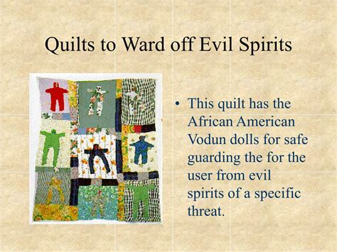 how to ward off spirits in your house how to ward spirits in your house 28 images ppt american quilting traditions