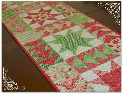 sewing pattern table runner the sewing chick christmas in july table runner tutorial