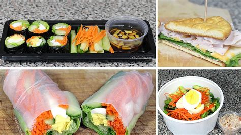 10 Best School Lunch Ideas For Losing Weight by How To 3 Back To School Easy Healthy Lunch Ideas