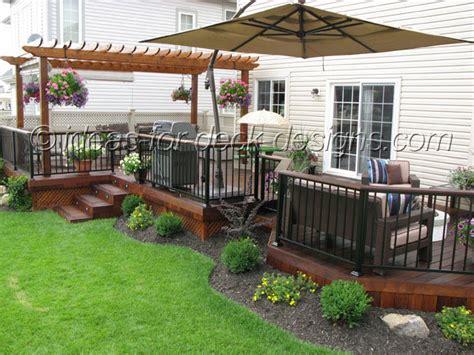 Nice Ideas For Deck Designs #7 Backyard Deck Idea Patio