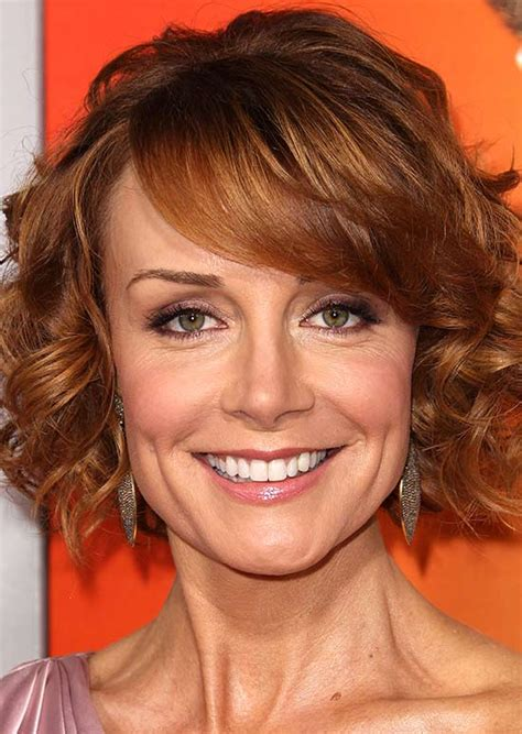 swoop bangs with short curly hair 50 best hairstyles for short red hair hair style lab