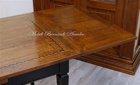 tavoli intarsiati tavoli in noce allungabili 3 tavoli