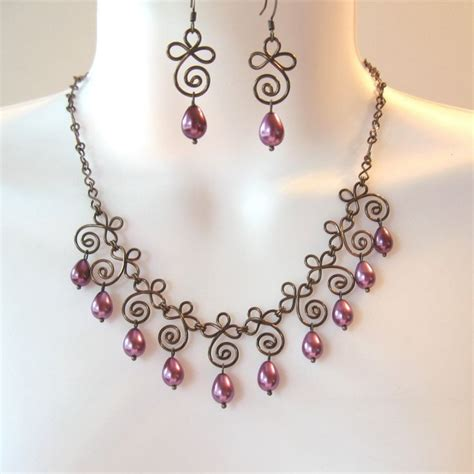 how to make a wire necklace with 17 best images about wig jig patterns on bead