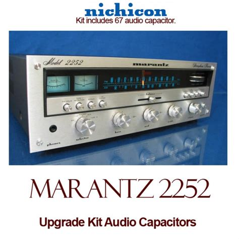 capacitor upgrade marantz 2252 upgrade kit audio capacitors