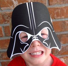 printable darth vader mask for elf on the shelf boys parties on pinterest