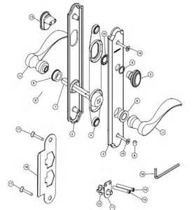 Crestline Patio Door Parts Marvin Screen Door Parts Swinging Sliding Handles