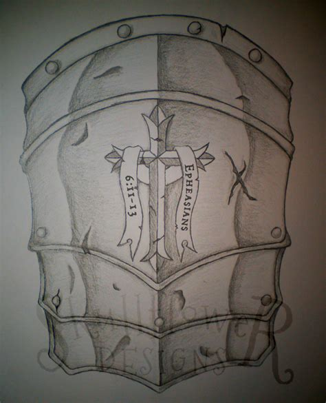 armor of god shoulder pauldron desgin by wingsdurus on