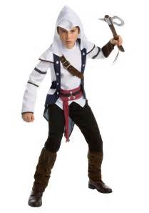 Cool Halloween Costumes 12 Boys Assassins Creed Connor Classic Teen Costume