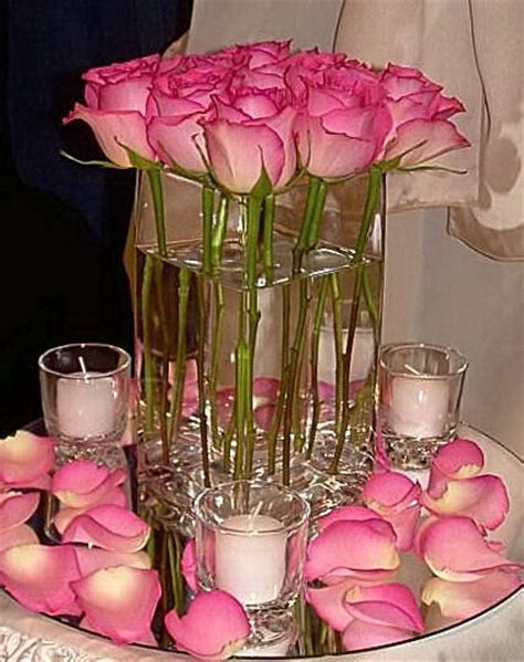 Inexpensive Vases For Centerpieces by Cheap Candle Centerpieces For Weddings Wedding