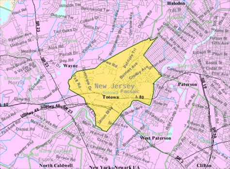 section 8 es county nj totowa new jersey