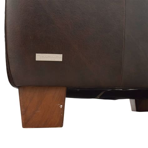 64 sofitalia sofitalia brown leather armchair