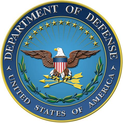 Dod Search Department Of Defense Seal Black And White Images