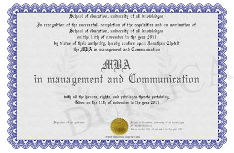Mba Buisness Communication by Mba In Management And Communication