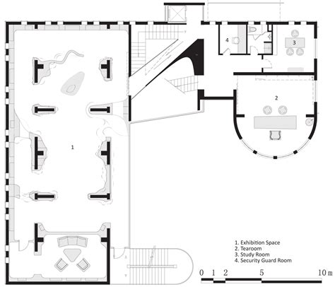 www floor plan design com jade museum with concrete staircase in shanghai by archi union